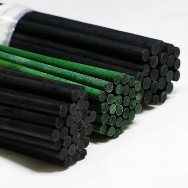 dyed wax bamboo flower sticks (4)