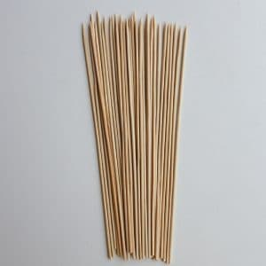 10 inch bamboo skewers
