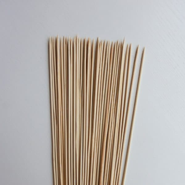 12 inch bamboo skewer