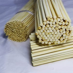 Natural bamboo flower sticks