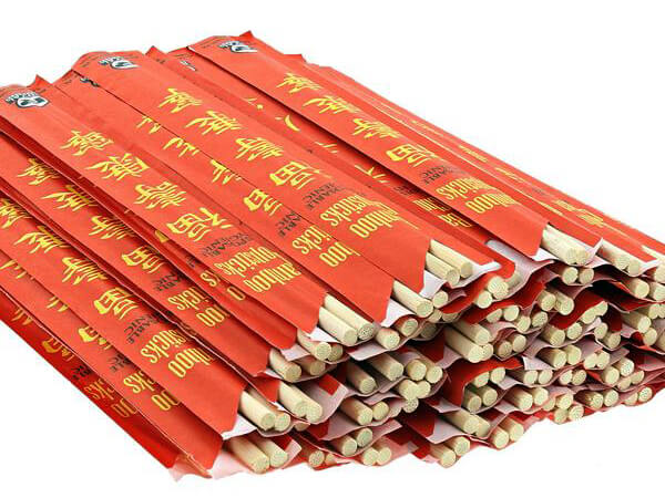 recycle disposable bamboo chopsticks