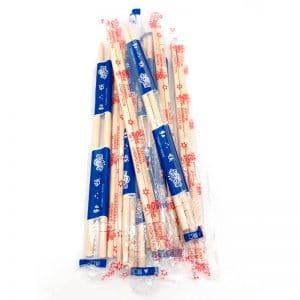 Bamboo chopsticks with OPP plastic wrapped