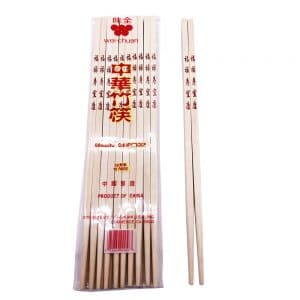 10 pairs packing bamboo chopsticks